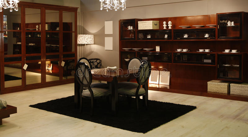 Sala de visitas de luxe fotos de stock
