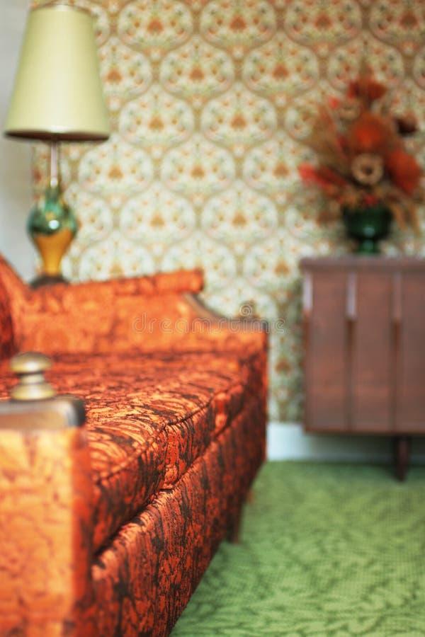 Sala de visitas do kitsch imagem de stock