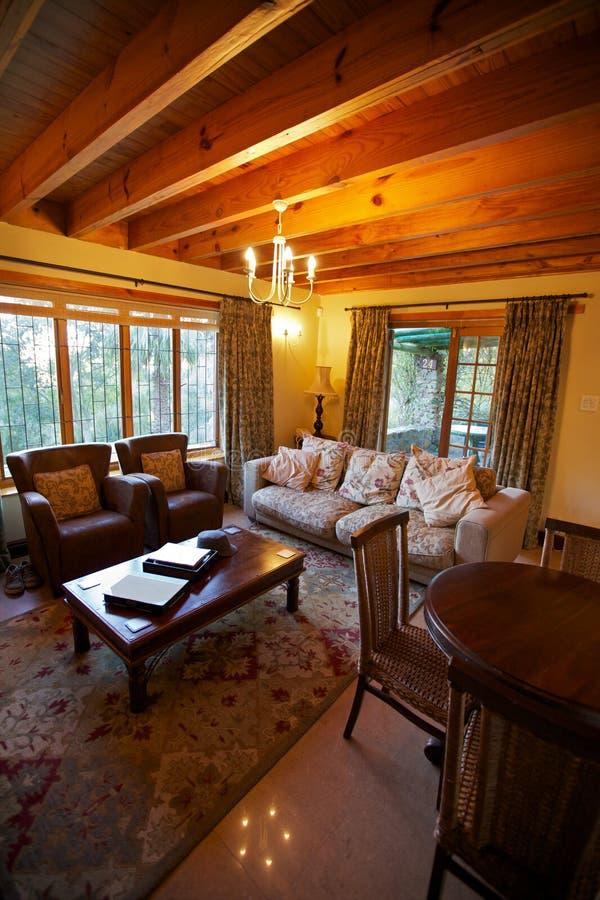 Sala de visitas, HOME ou cama - e - pequeno almoço imagens de stock royalty free