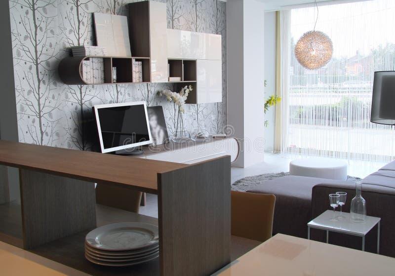Download Sala De Visitas Moderna E à Moda Foto de Stock - Imagem de elegante, furniture: 29826248