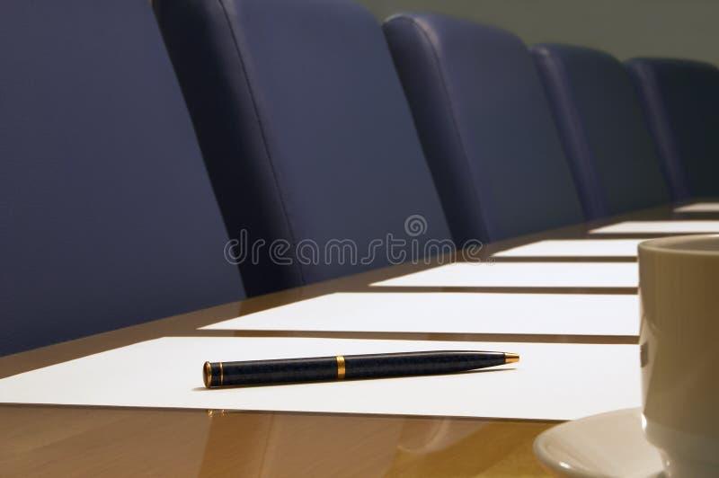 Download Sala del consiglio immagine stock. Immagine di segno, azienda - 216627