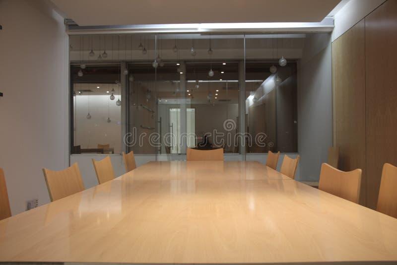 Sala del consiglio moderna immagini stock