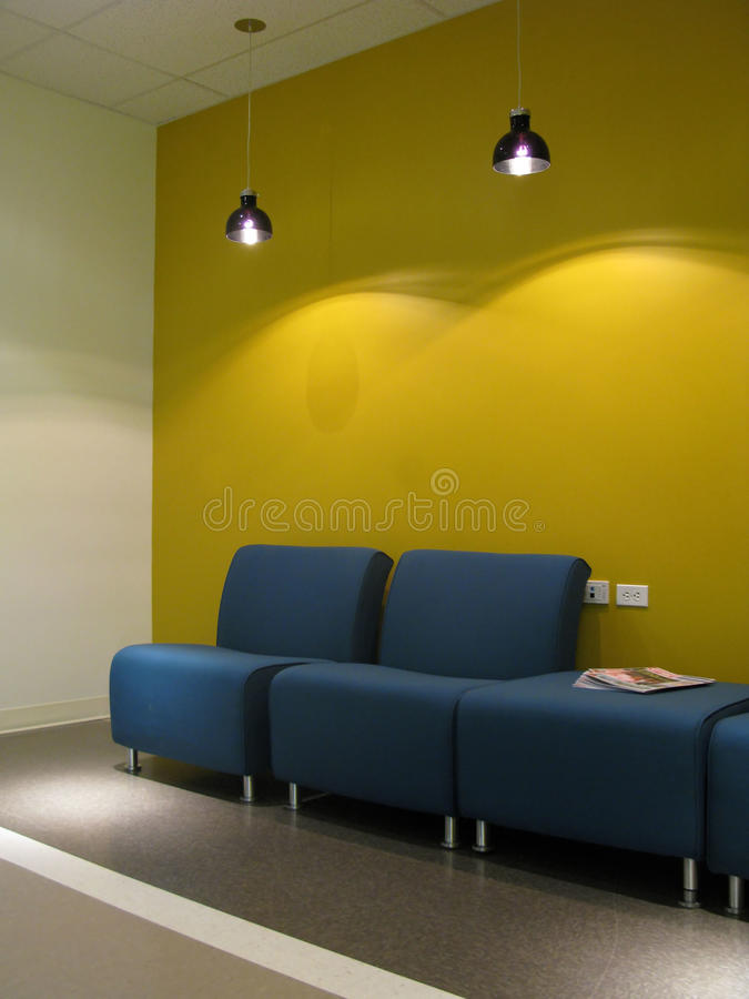 Sala di attesa fotografie stock