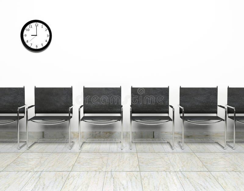 Sala di attesa royalty illustrazione gratis