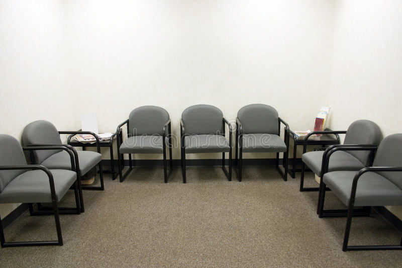 Sala di attesa fotografie stock libere da diritti