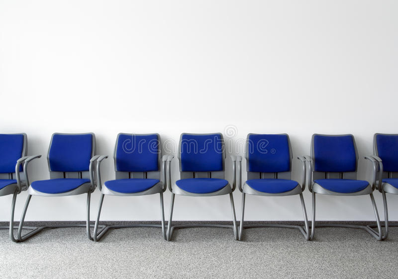 Sala di attesa ordinaria fotografia stock