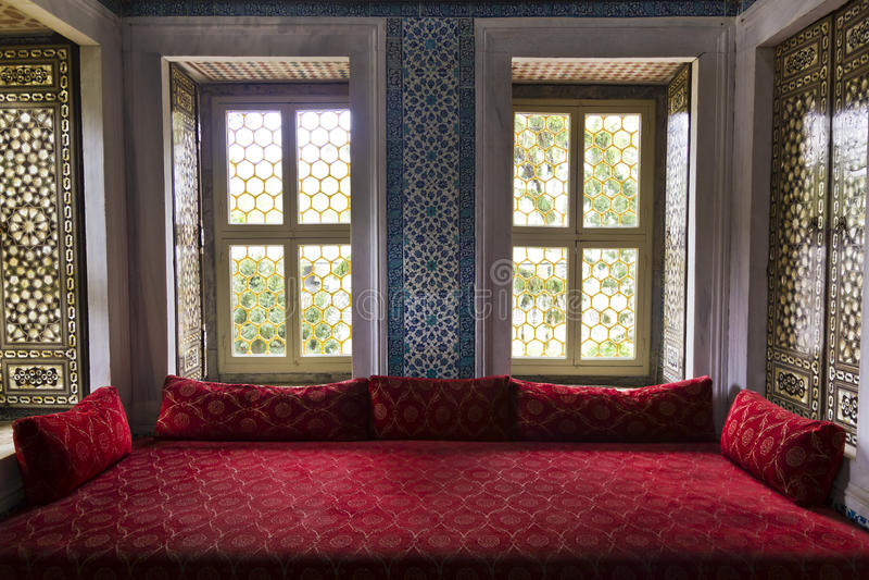 Sala do otomano imagem de stock royalty free