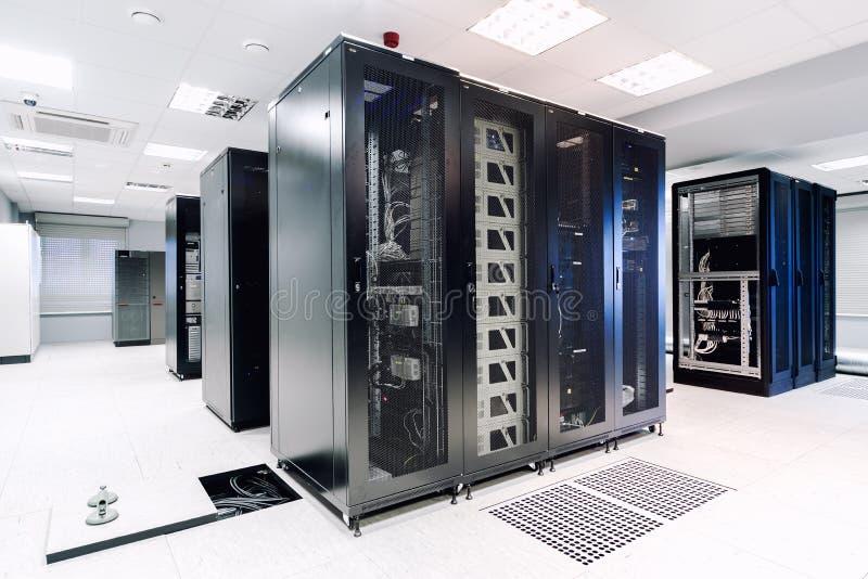 Sala do servidor fotografia de stock