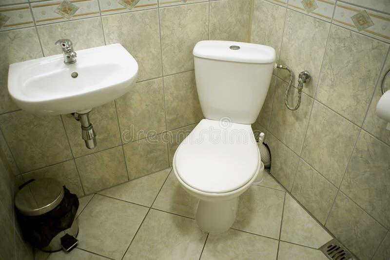 A sala do toalete imagens de stock