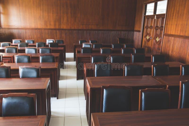Sala do tribunal da magistratura fotografia de stock royalty free