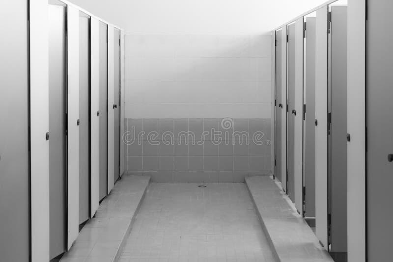 sala dos toaletes públicos foto de stock