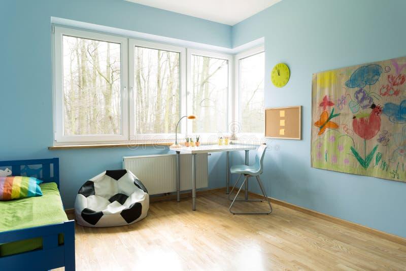A sala elegante da criança foto de stock