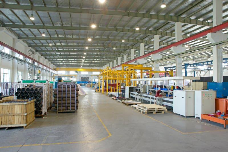 sala fabryczny warsztat obraz stock