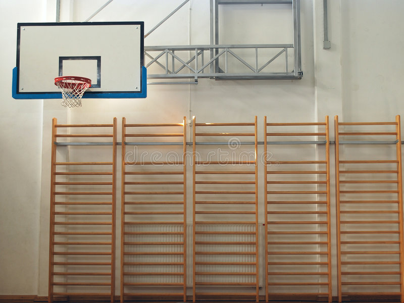 sala gimnastyczna zdjęcie royalty free