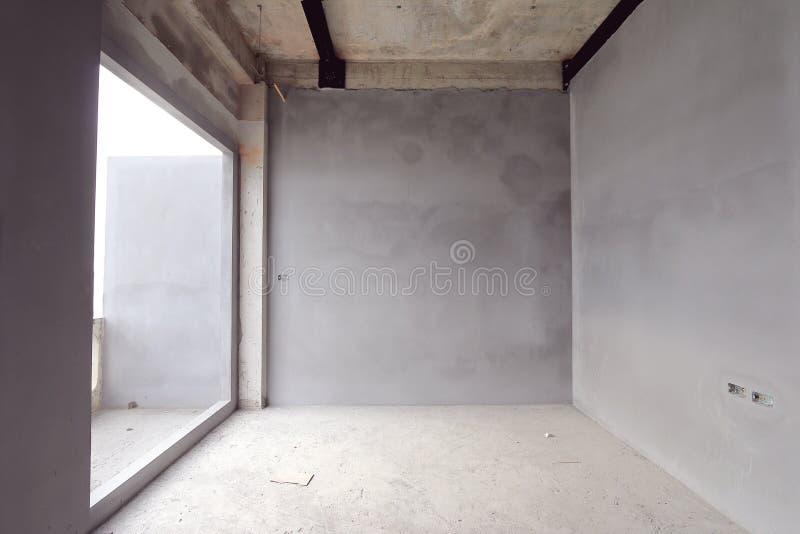 Sala inacabado sob a construção imagem de stock royalty free