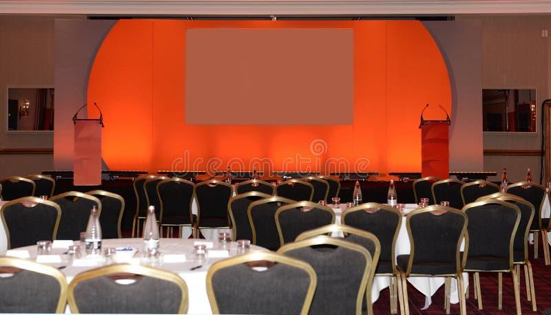 Sala konferencyjna i scena zdjęcie royalty free