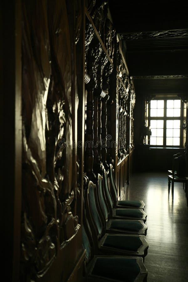 Sala konferencyjna rząd miasta biuro w Triberg, Niemcy Triberg jest sławny dla wysokiej siklawy w Niemcy zdjęcia royalty free