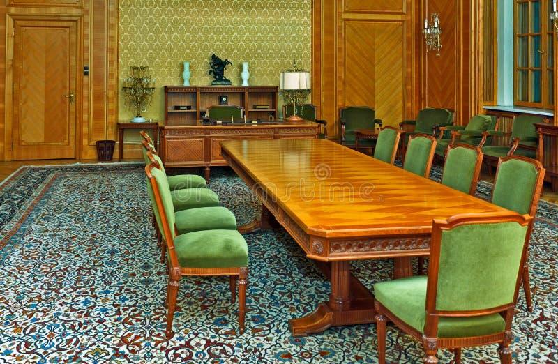 sala konferencyjna tradycyjna obrazy royalty free
