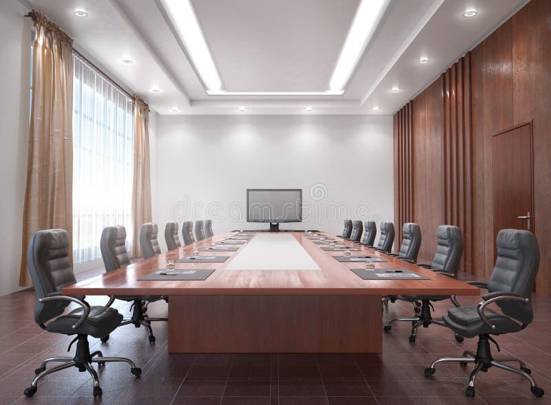 Sala konferencyjnej wnętrze zdjęcie royalty free