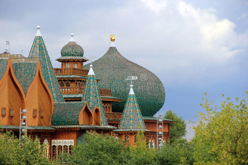 sala królewskie Kolomenskoe, Moskwa obrazy royalty free