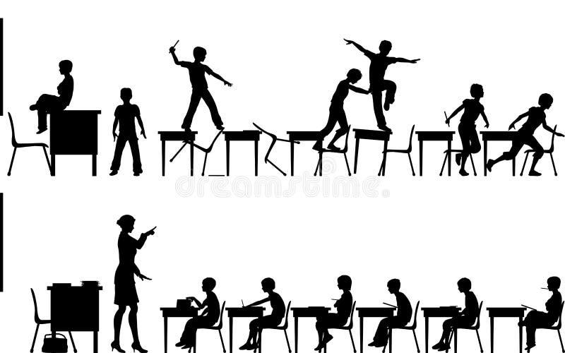 sala lekcyjna ilustracji