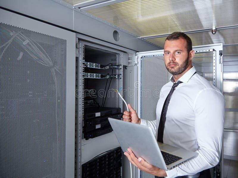 Sala moderna do servidor do datacenter fotos de stock royalty free