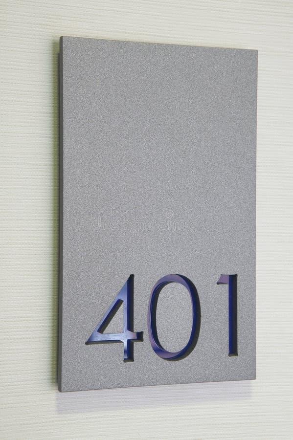 Sala número 401 fotografia de stock royalty free