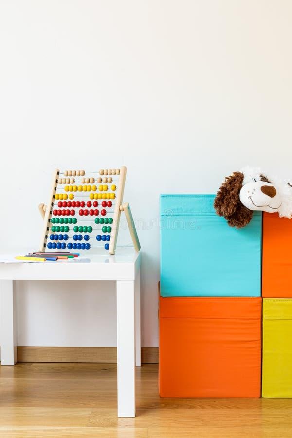 Sala para crianças fotografia de stock royalty free