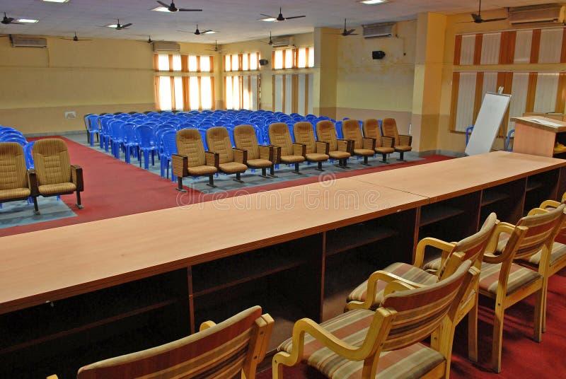 Sala per conferenze dell'università fotografia stock libera da diritti