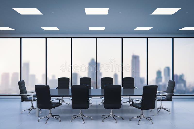 Sala per conferenze vuota illustrazione di stock