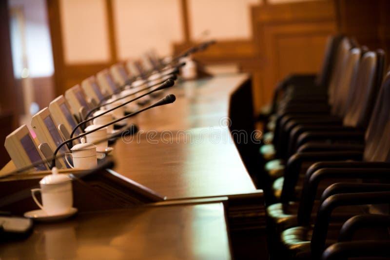 sala posiedzeń zdjęcie royalty free