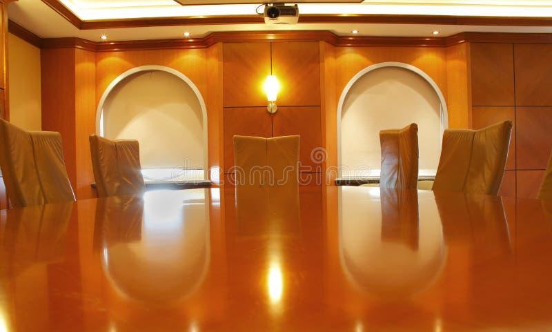 sala posiedzeń biznesu stół zdjęcie royalty free
