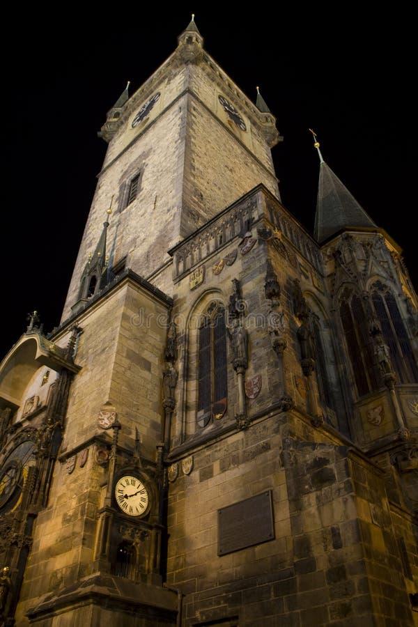 sala Prague stary miasteczko zdjęcia stock