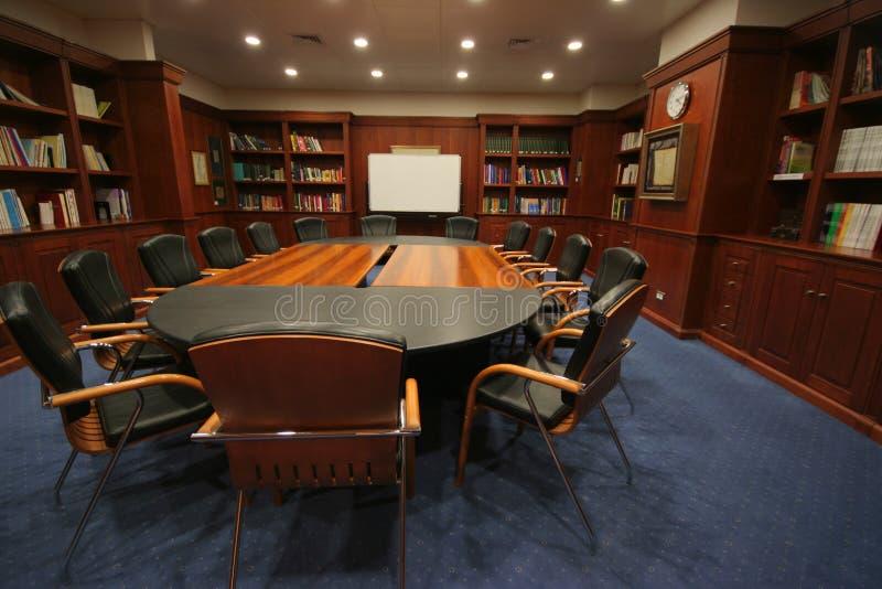 Sala riunioni delle biblioteche immagini stock libere da diritti