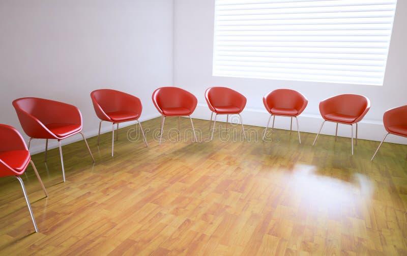 Sala riunioni vuota royalty illustrazione gratis