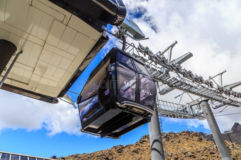 Sala Skywaka gondola immagine stock libera da diritti