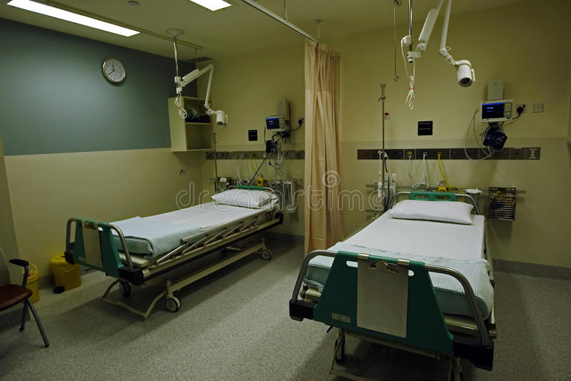 sala szpitalna s obrazy royalty free
