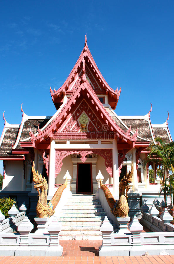 Sala Thai Pavillion lizenzfreies stockbild