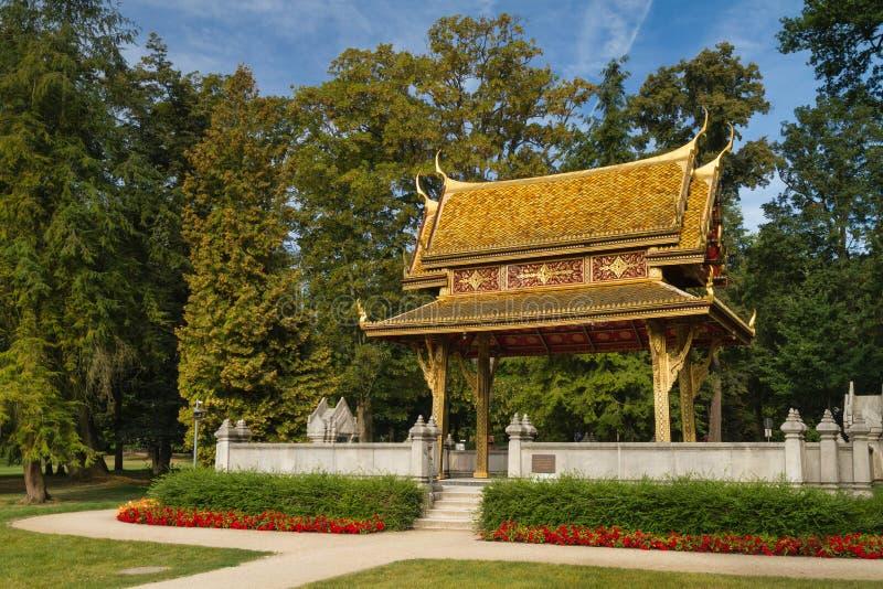 Sala Thai Pavillion i sommaren royaltyfria foton