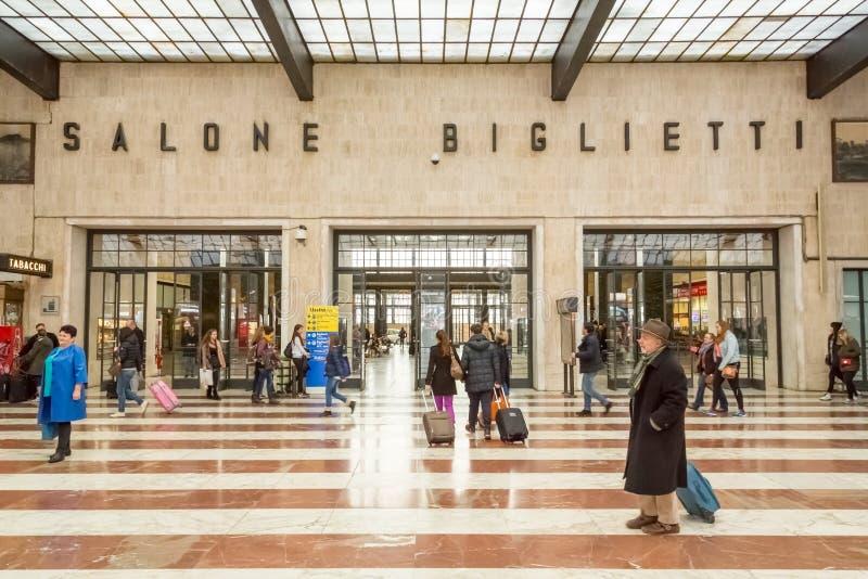 A sala Ticketing em Florença imagem de stock royalty free