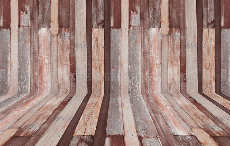 Sala velha, parede de madeira fotos de stock royalty free