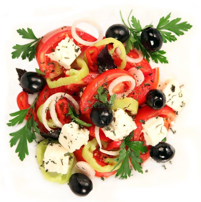 Salad. Close-up of greek salad