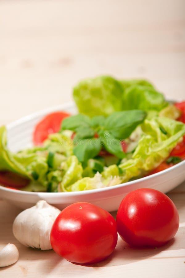 Salad. Healthy Eating concept.Fresh Salad Background stock images