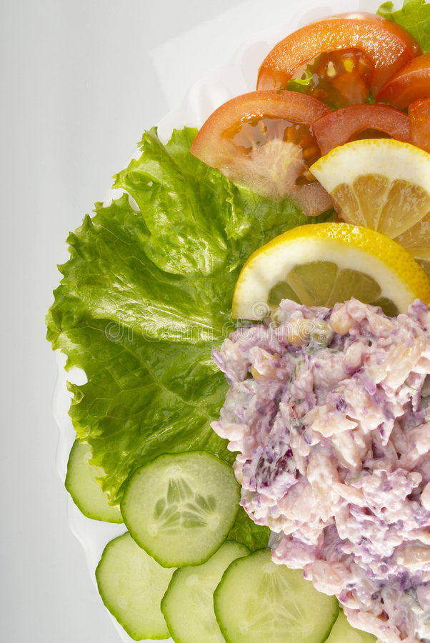 Download Salad stock photo. Image of garnish, cooking, pepper, vegetable - 2397156