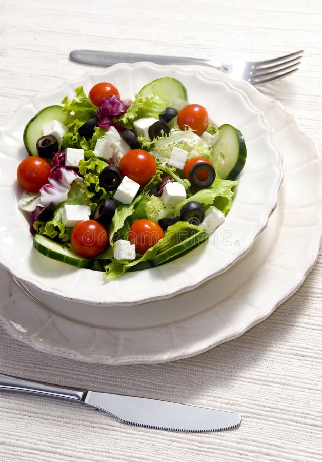 Download Salad stock photo. Image of lunch, organic, dried, setting - 2978950