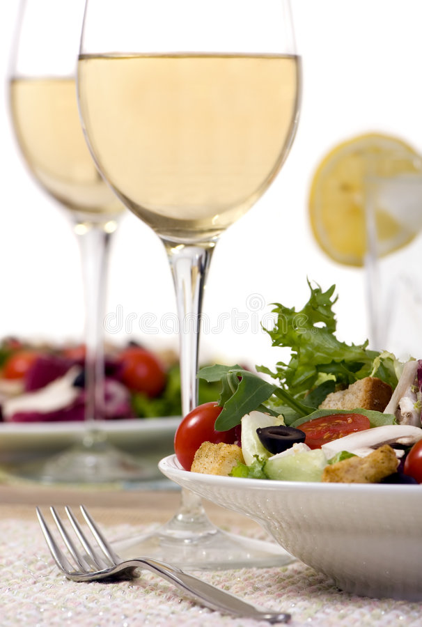Download Salad stock photo. Image of menu, healthy, fork, gourmet - 2979996