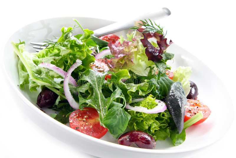 Download Salad stock photo. Image of horizontal, background, white - 6691648