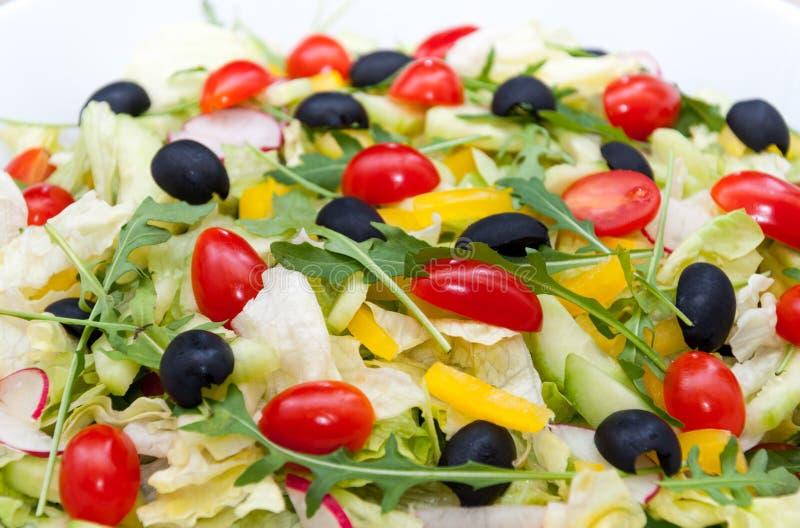 Salad background royalty free stock photo