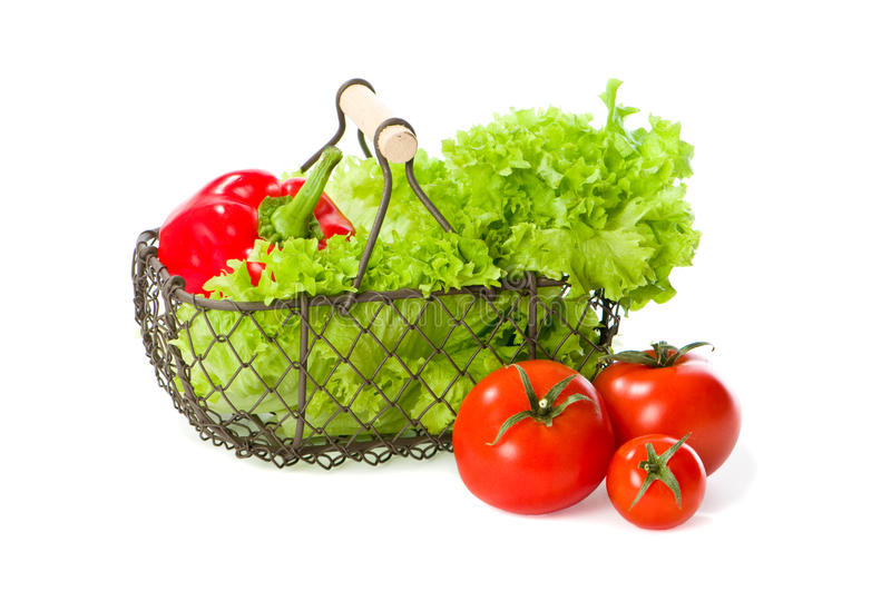 Download Salad Basket stock image. Image of diet, leaves, kitchen - 14289417