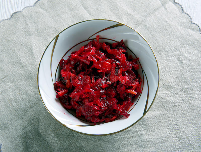 Salad beetroot carrots royalty free stock photos